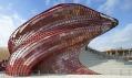 Daniel Libeskind ajeho firemní pavilon Vanke Čína naExpo 2015