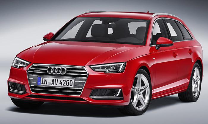 Audi představilo nové A4 včetně kombi A4 Avant