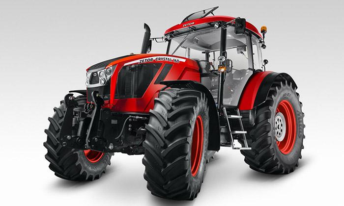 Legendární traktor Zetor Crystal dostal nový design