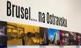 Pohled do espozice výstavy Brusel… na Ostravsku