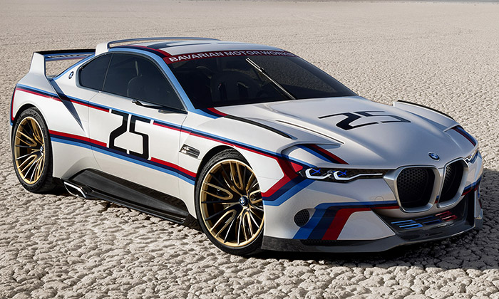 BMW 3.0 CSL Hommage R jespeciálem naokruhy