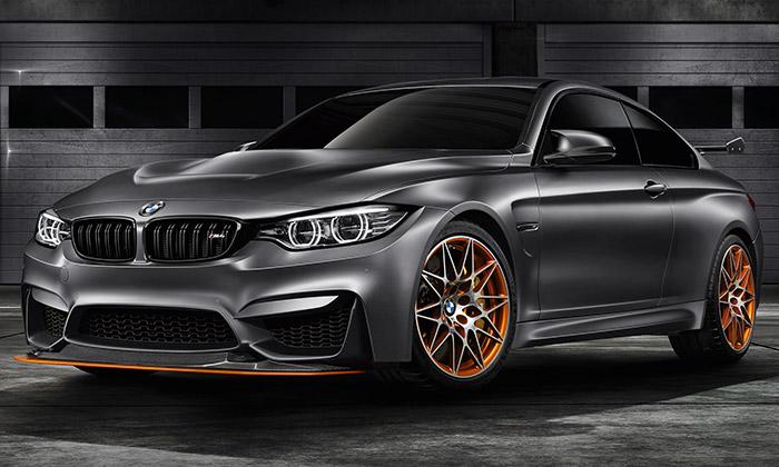BMW M4 GTS jesportovní kupé sOLED světlomety