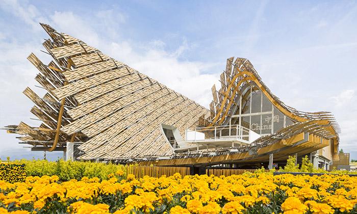 Čína má naExpo 2015 pavilon symbolizující mrak