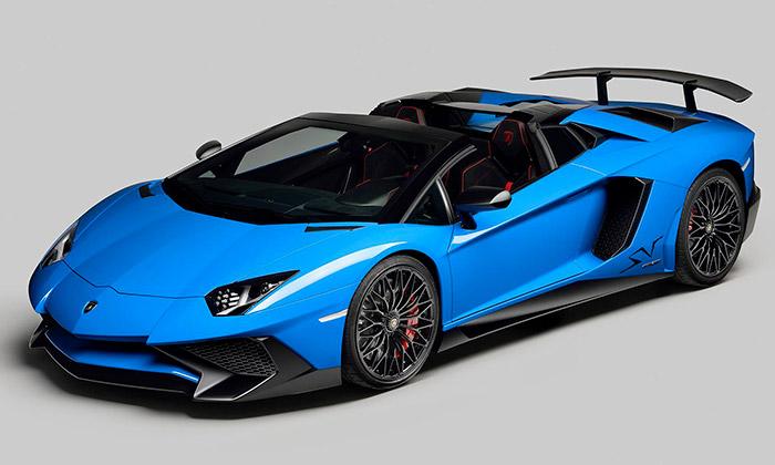 Lamborghini uvádí Aventador Superveloce Roadster