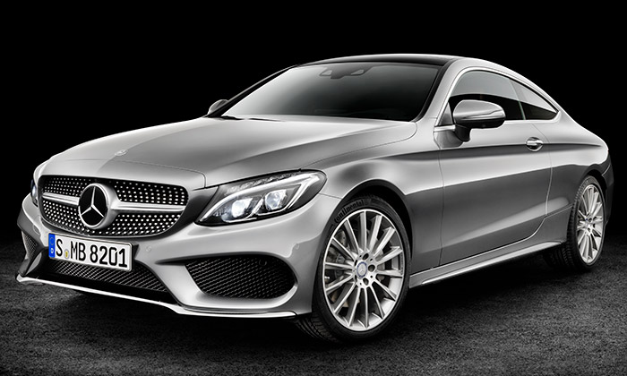 Mercedes-Benz odhalil C Coupé vnovém designu