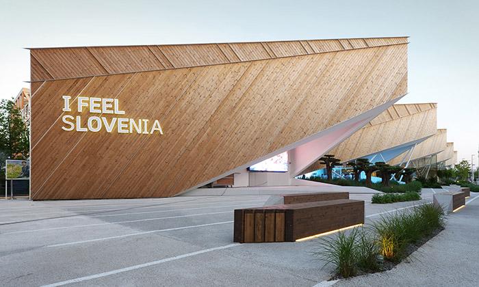 Slovinsko má naExpo ostře geometrický pavilon
