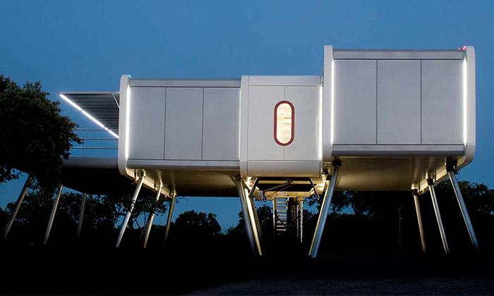 Nedaleko Madridu stojí dům stvarem kosmické lodi