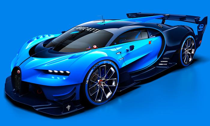 Bugatti navrhlo supersportovní Vision Gran Turismo