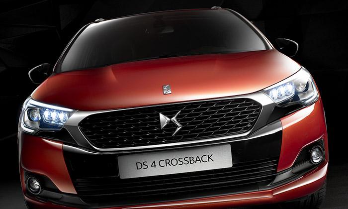 Citroën zmodernizoval DS 4 auvádí DS 4 Crossback