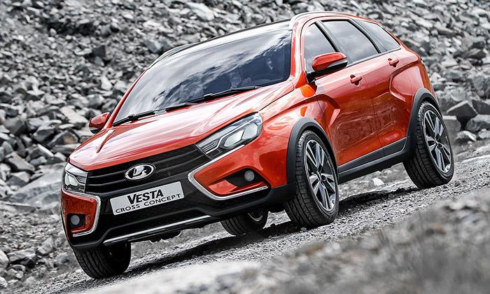 Lada mění design apředstavuje koncept Vesta Cross