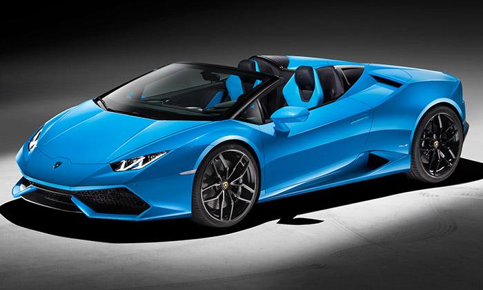 Lamborghini představilo otevřený Huracán Spyder