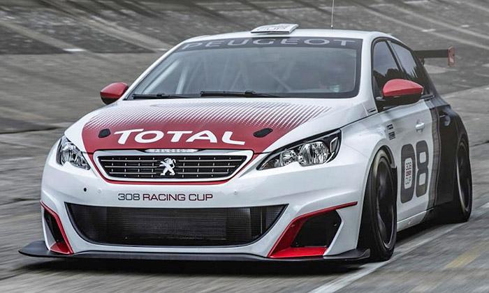 Peugeot ukázal závodní model vozu 308 Racing Cup