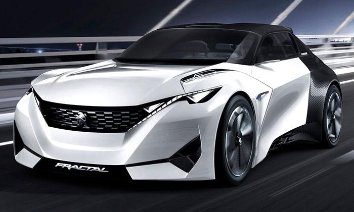 Peugeot představil futuristický koncept vozu Fractal