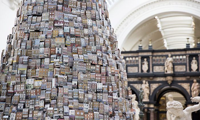 Londýn postavil Babylonskou věž ztisíce obchodů