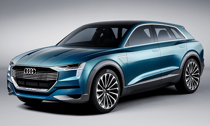 Audi představilo konceptem E-tron Quattro své SUV