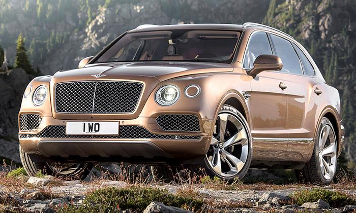Bentayga jeprvní sportovně-užitkový vůz Bentley