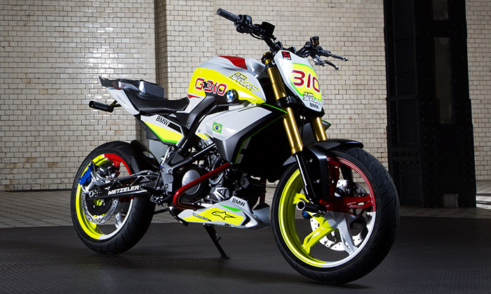 BMW navrhlo stuntridingovou motorku Stunt G 310