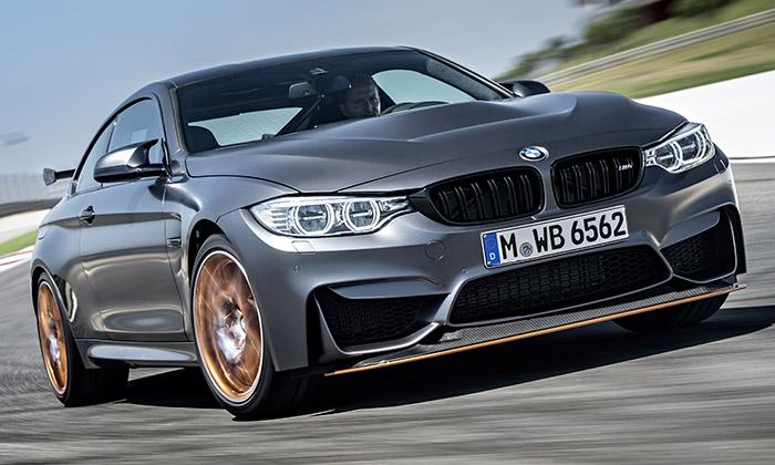 BMW uvádí sériovou verzi sportovního kupé M4 GTS