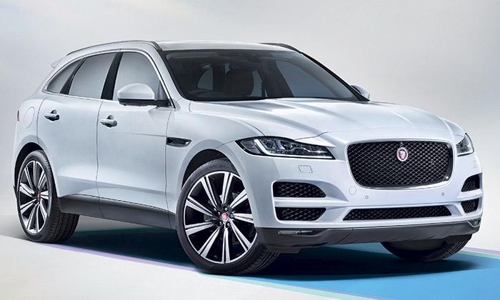Jaguar uvádí první sportovně-užitkových vůz F-Pace