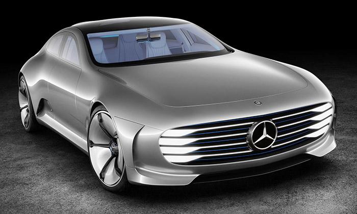 Mercedes-Benz odhalil aerodynamický koncept IAA