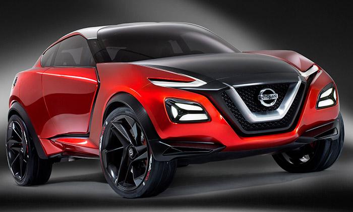 Nissan Gripz jekoncept crossoveru sporťáku aSUV