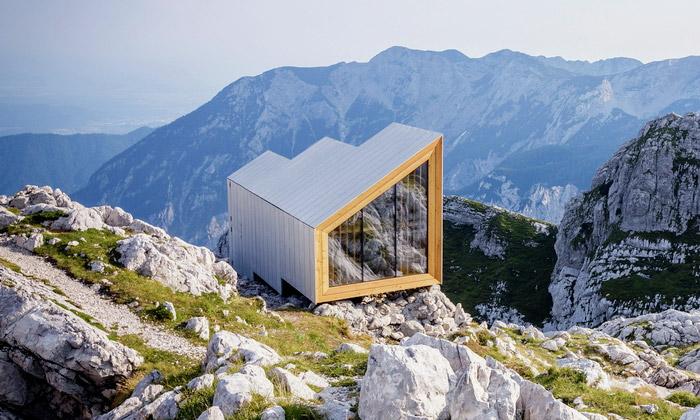 Slovinské Alpy dostaly moderní přístřešek pro turisty