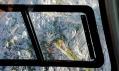 Přístřešek pod horou Skuta ve Slovinských Alpách
