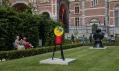 Sochy od Joana Miró v Rijksmuseum