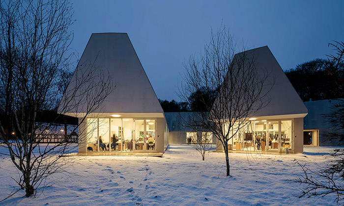 School No. 1 v Krabbesholm od MOS Architects