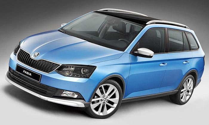 Škoda ukázala terénní verzi Fabia Combi ScoutLine