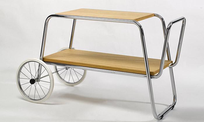 Slezákovy závody oživují ohýbaný kovový nábytek