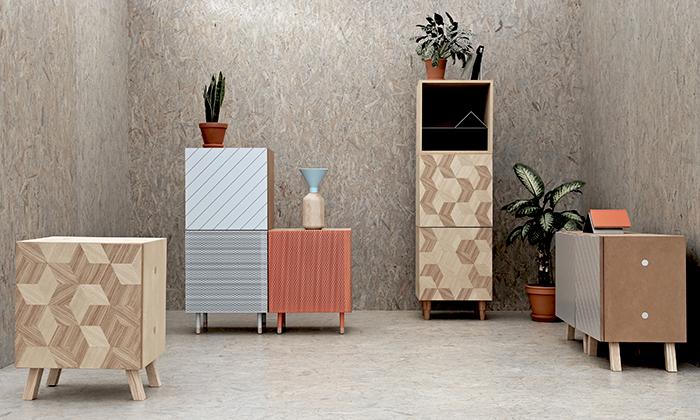 Studio Muck vytvořilo univerzální kus nábytku UNI
