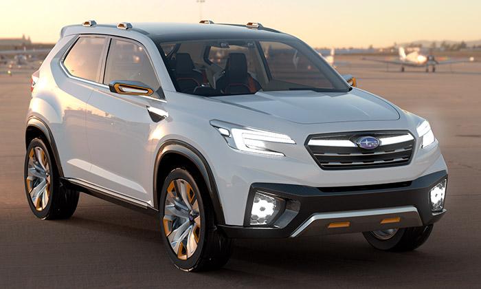 Subaru ukáže vTokiu koncepty vozů Visiv aImpreza