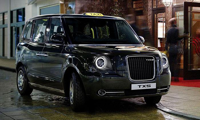 V Londýně představili nový ekologický vůz taxi TX5
