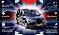 The London Taxi Company a kultovní taxi TX5