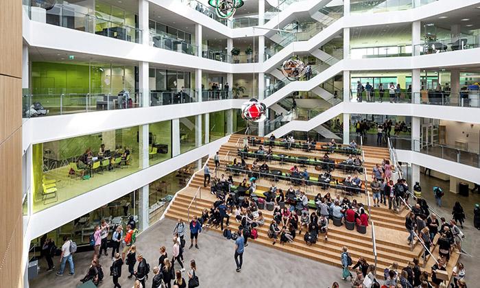 Aarhus postavil vcentru města univerzitní kampus