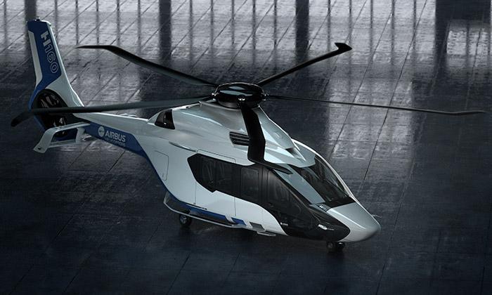 Peugeot navrhl pro Airbus Helicopters vrtulník H160