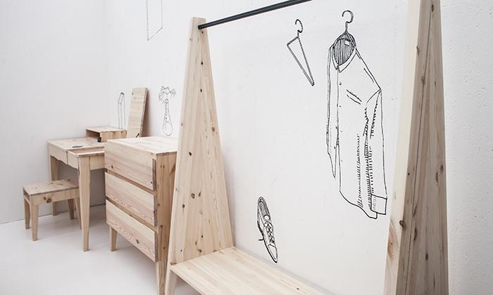 Aman navrhli kolekci nábytku B15 zčeského dřeva