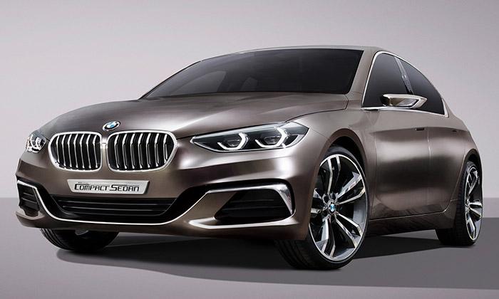 BMW představilo poutavý Concept Compact Sedan
