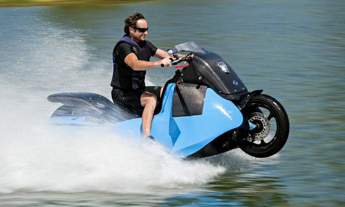 Gibbs Sports navrhli obojživelnou motorku itříkolku