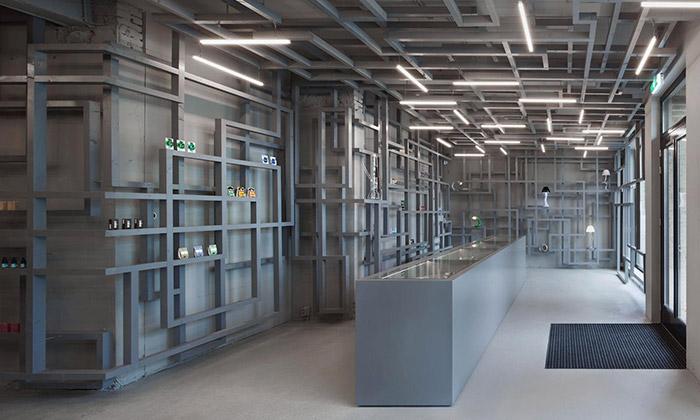 Maurice Mentjens a obchod House of Smart v Eindhovenu