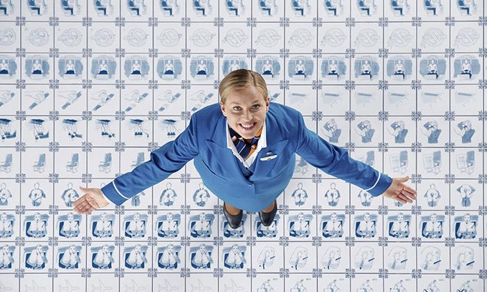 KLM udělalo instruktážní video zkachliček Delft Blue