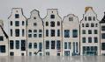 KLM safety film z keramiky Delft Blue