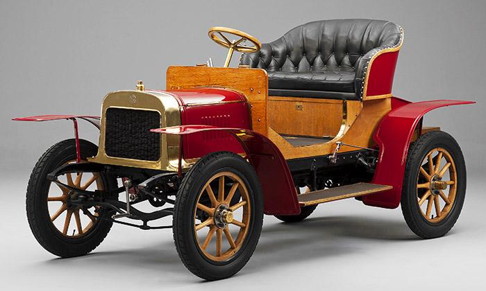 Škoda oslavuje 110 let odprvního osobního vozu