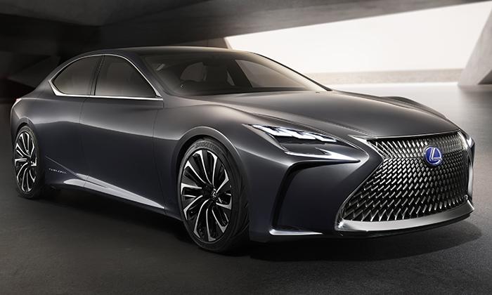 Lexus představil aerodynamický koncept vozu LF-FC
