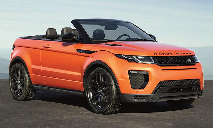 Range Rover Evoque představen veverzi Cabriolet