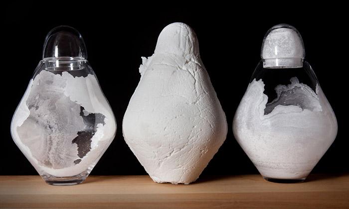 Lenka Husárková vystavuje svůj Krystalický svět