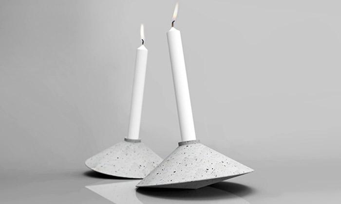 Zapálení představili kolekci pěti nápaditých svícnů