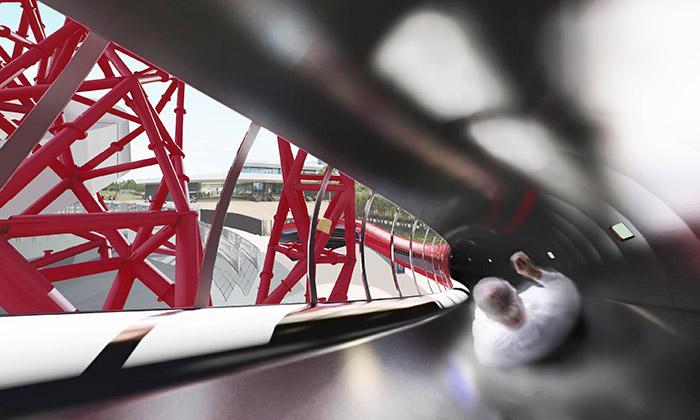 Nová skluzavka The Slide naplánovaná na rok 2016 pro ArcelorMittal Orbit