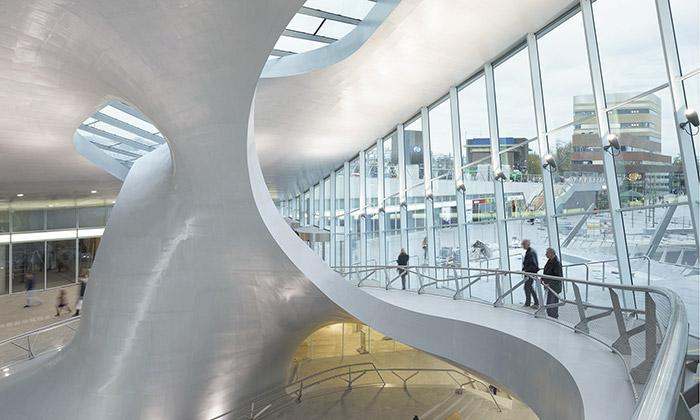 Arnhem postavil nádraží budoucnosti odUNStudio